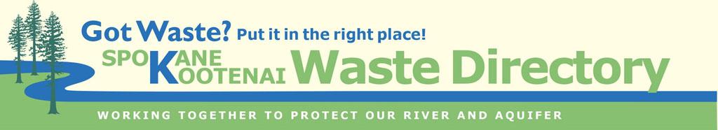 Spokane-Kootenai Waste Directory
